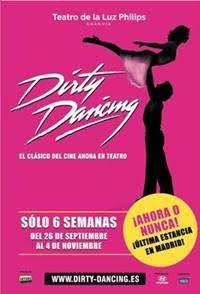 DIRTY DANCING : ACTUACIÓN EN LA ESCALINATA DEL CINE CAPITOL