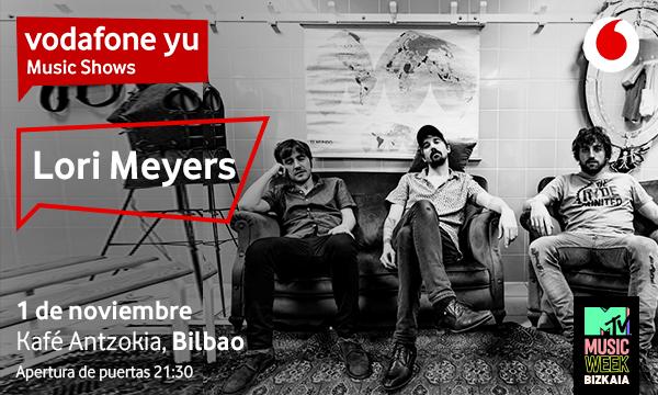 Lori Meyers celebran en Bilbao sus 20 años de carrera en un nuevo Vodafone yu Music Show