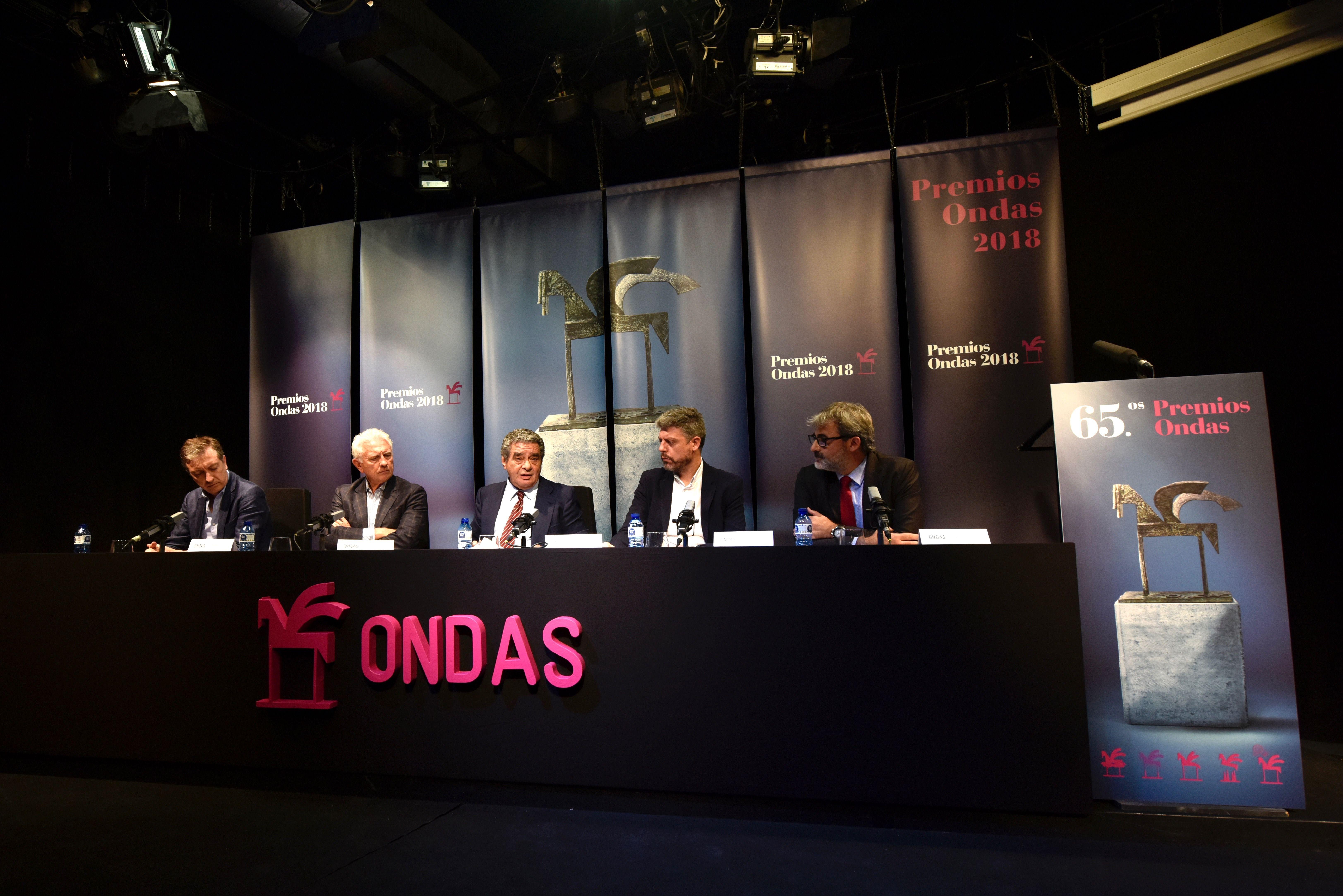 Premiados Premios Ondas 2018