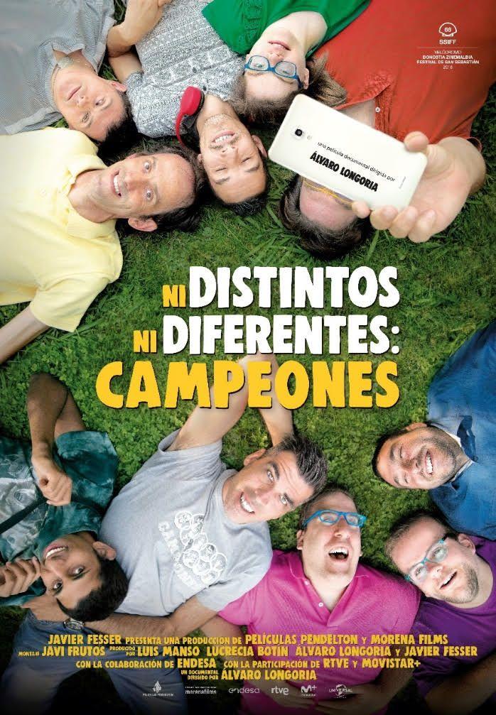EL DOCUMENTAL NI DISTINTOS NI DIFERENTES: CAMPEONES CAMBIA SU ESTRENO EN CINES AL 16 DE NOVIEMBRE