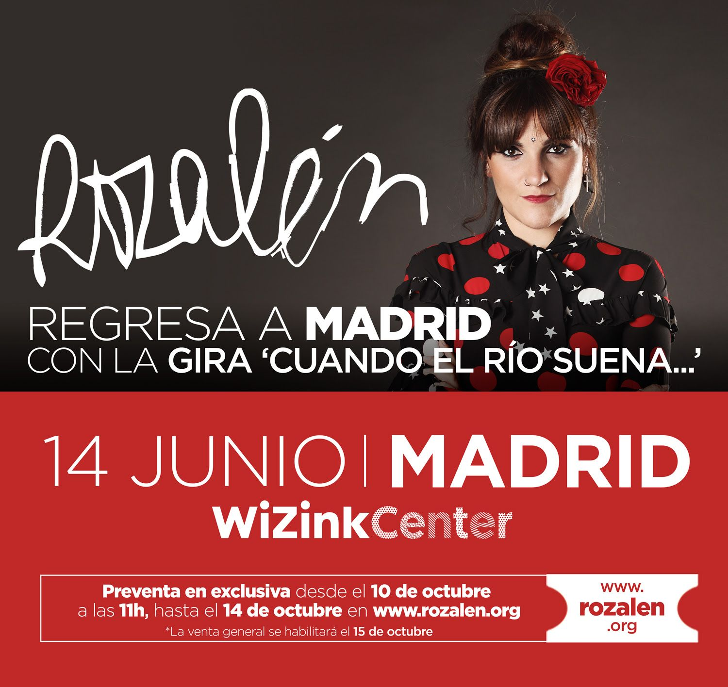Rozalén regresa a Madrid