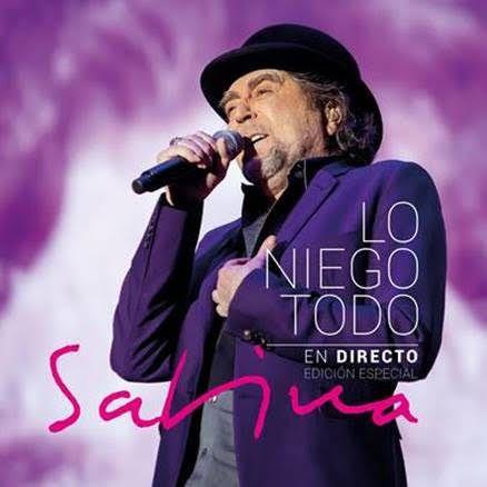 """JOAQUÍN SABINA """"LO NIEGO TODO EN DIRECTO"""" – 26 OCTUBRE ¡YA DISPONIBLE PARA RESERVA!"""