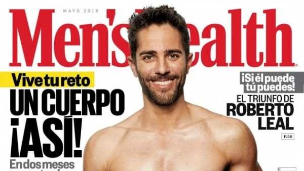 ENTREVISTAMOS A ROBERTO LEAL , PRESENTADOR DEL AÑO PARA MEN'S HEALTH