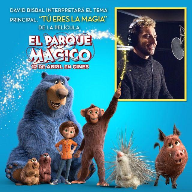 David Bisbal pone la voz al tema principal de EL PARQUE MÁGICO