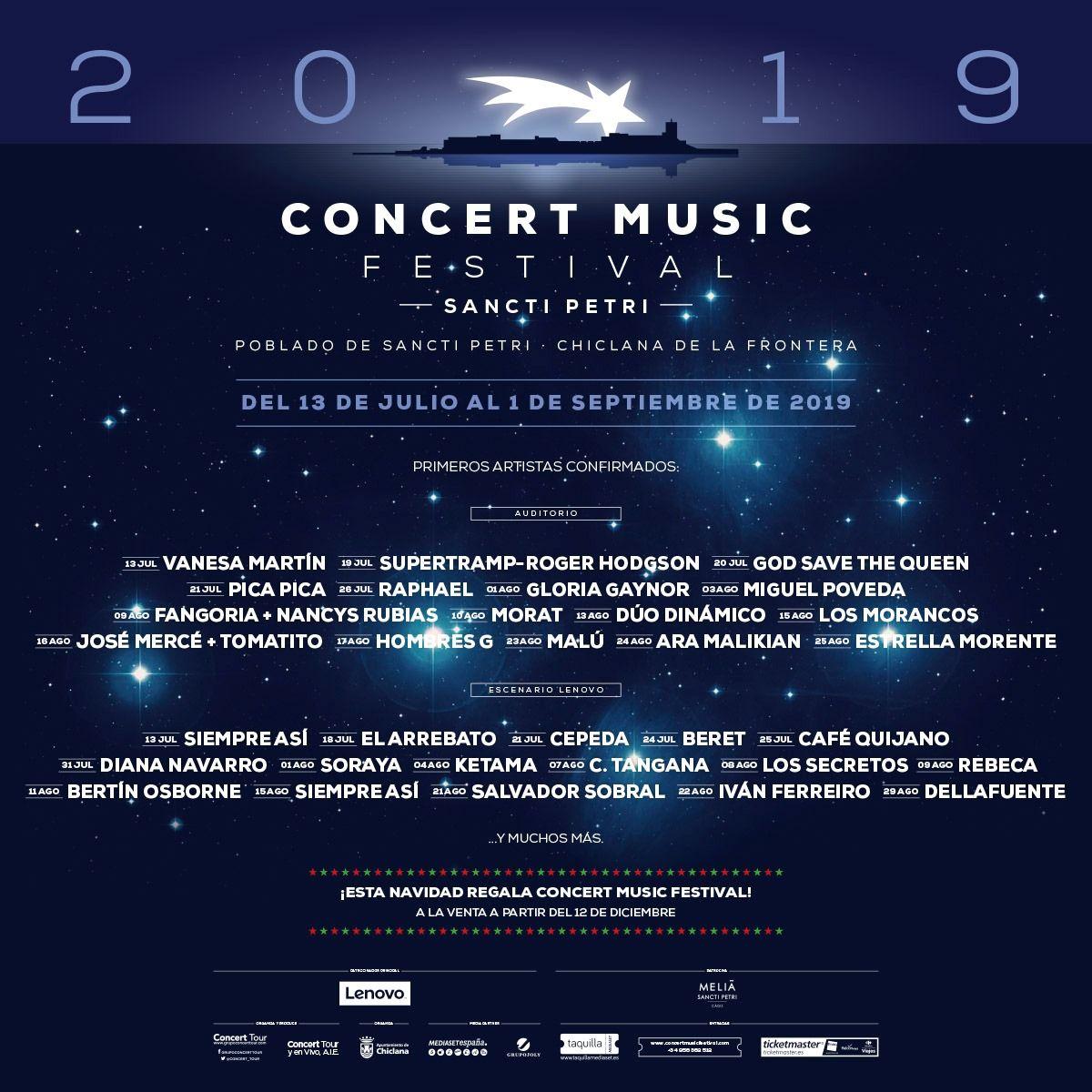 Concert Music Festival Sancti Petri 2019