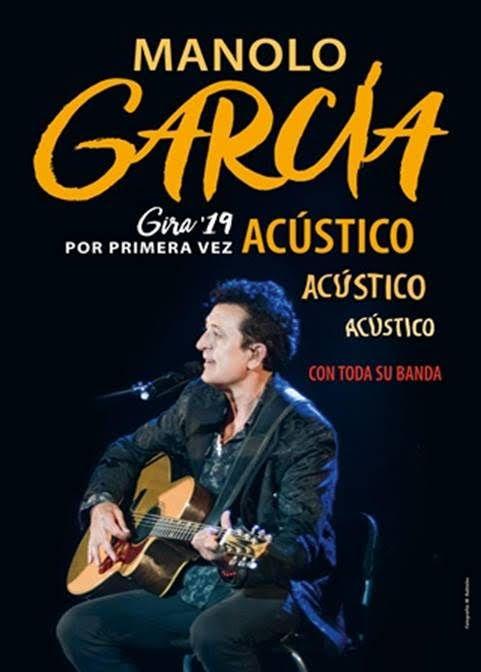 MANOLO GARCÍA ANUNCIA GIRA ACÚSTICA