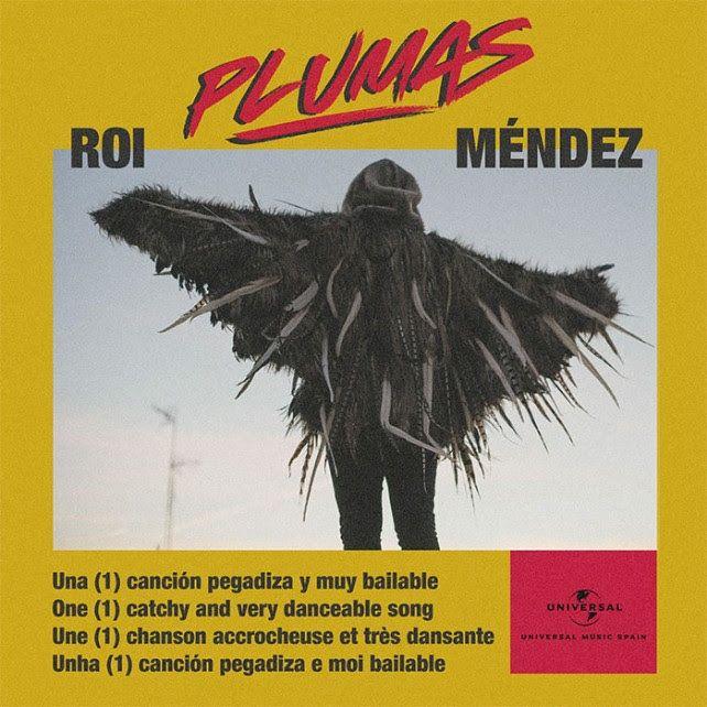 Roi Méndez estrena nuevo single «Plumas»