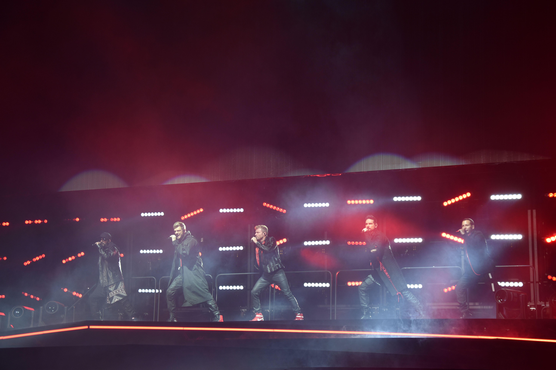Los Backstreet Boys triunfan en Madrid