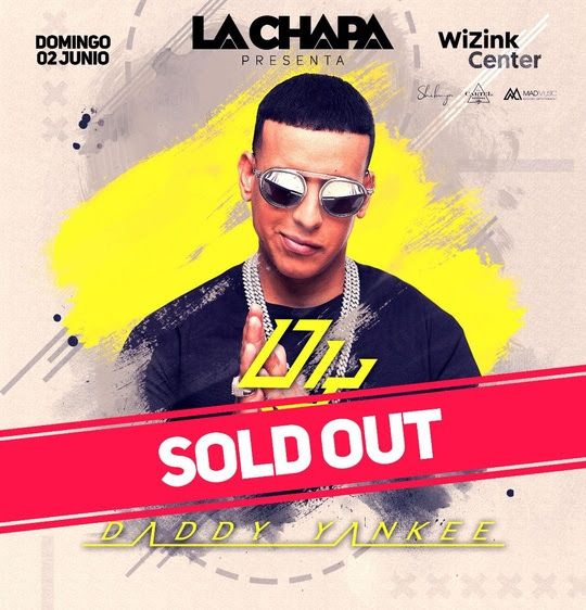 DADDY YANKEE PONE EL CARTEL DE «SOLD OUT» EN MADRID