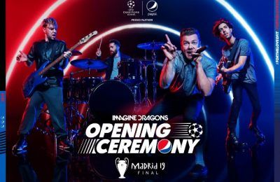 UEFA & PEPSI anuncian que IMAGINE DRAGONS actuará en la ceremonia de apertura de la final UEFA Champions League presentada por Pepsi