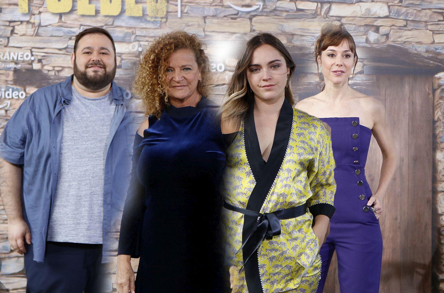 JAIRO SANCHEZ, BLANCA RODRIGUEZ, ELISA DRABBEN Y RUTH DIAZ: » DAMOS UN SALTO A LA COMEDIA ESPAÑOLA CON TEMAS SOCIALES»