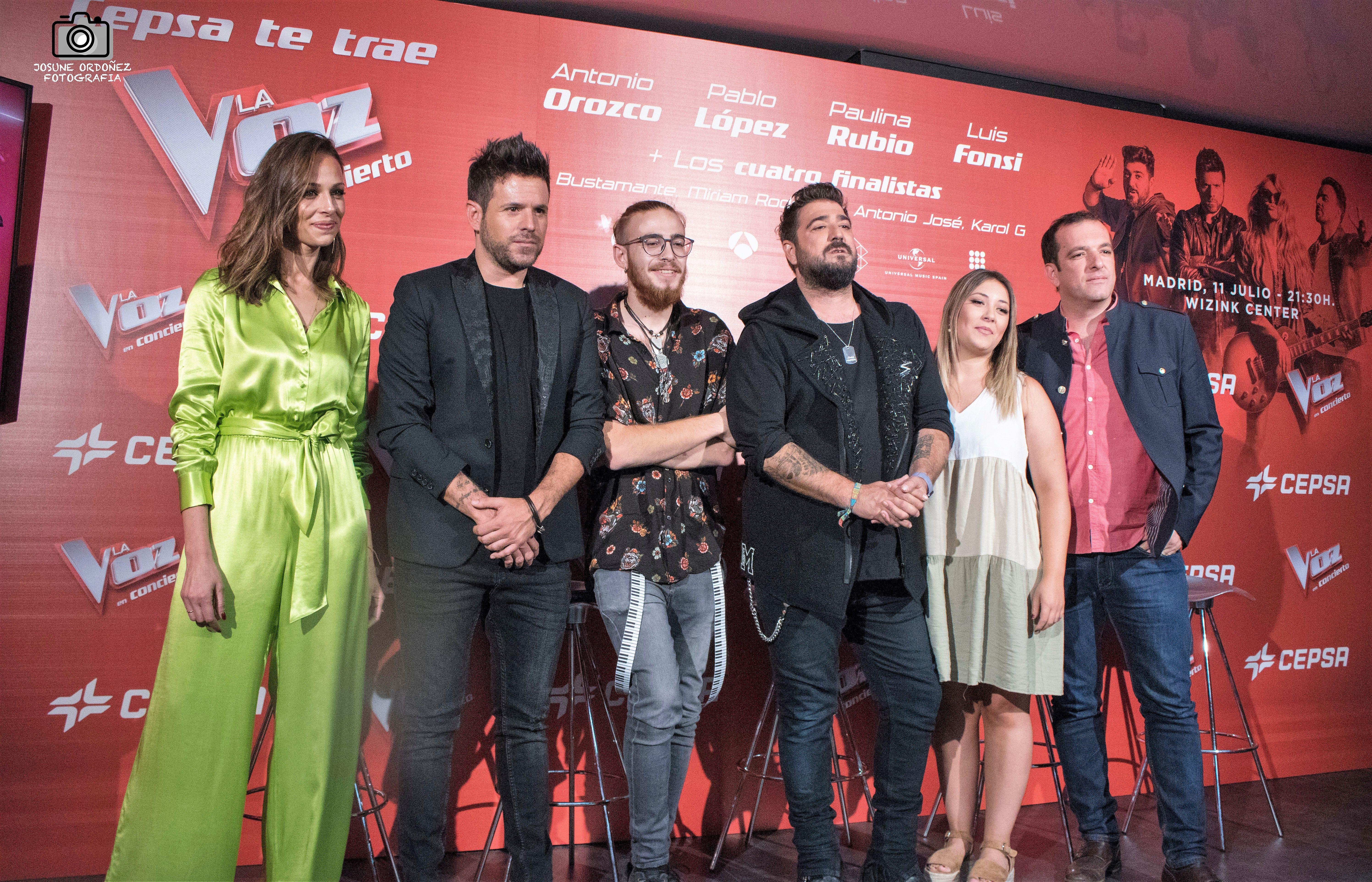 La Voz | Hablamos con los finalistas de La Voz sobre el concierto del 11 de julio