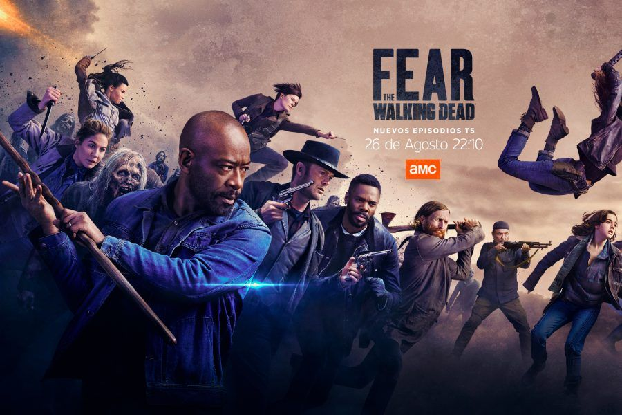AMC ESTRENA LA 2ª MITAD DE LA 5ª TEMPORADA DE «FEAR THE WALKING DEAD»