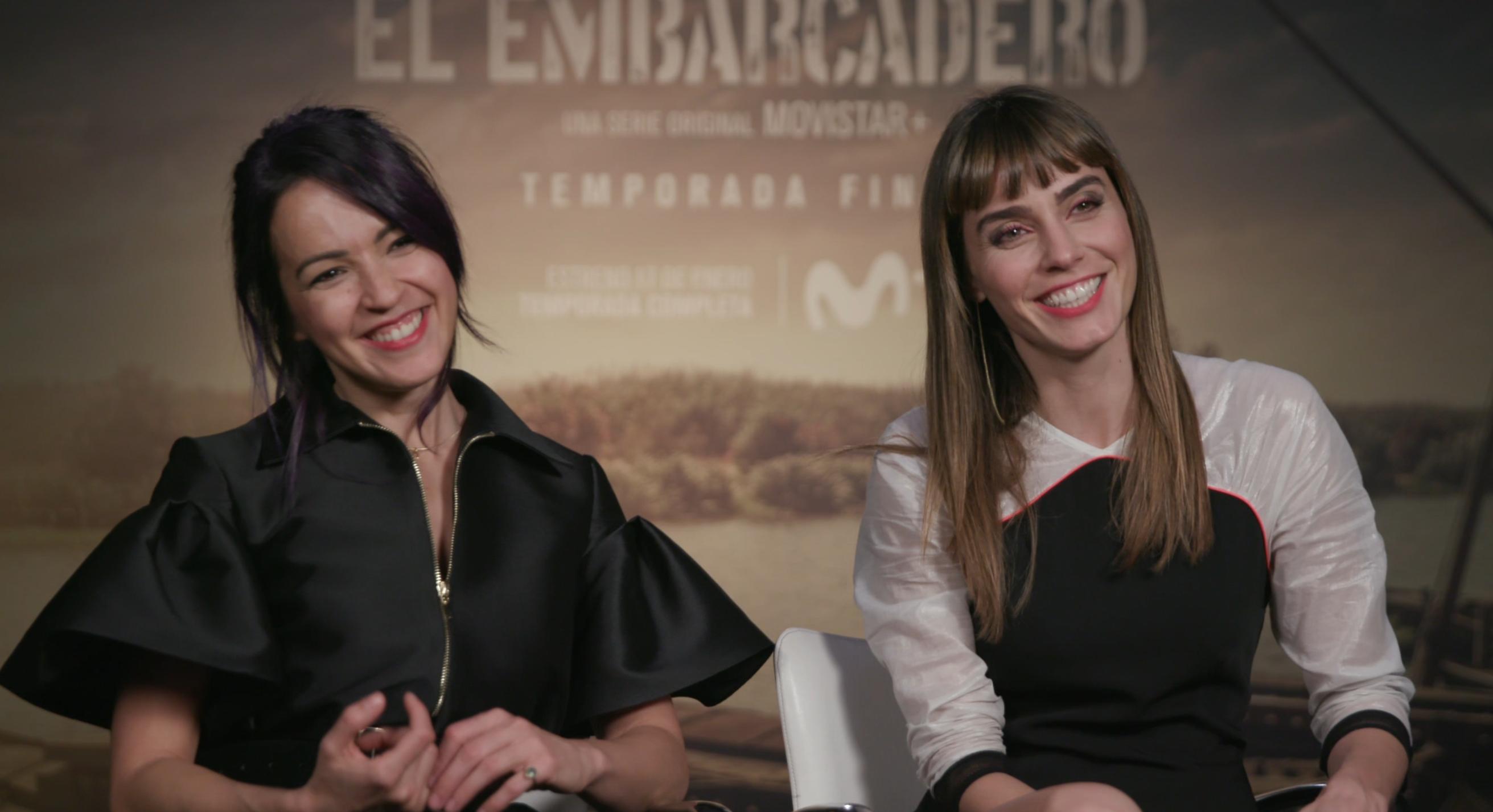 IRENE ARCOS Y VERÓNICA SÁNCHEZ: «Verónica tiene miedo a hacer daño y Alejandra a decepcionar»