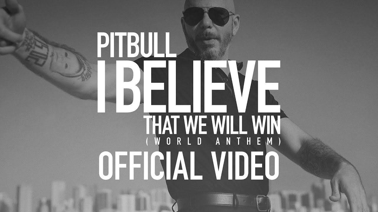 PITBULL «I Believe That We Will Win (World Anthem)», un mensaje de esperanza
