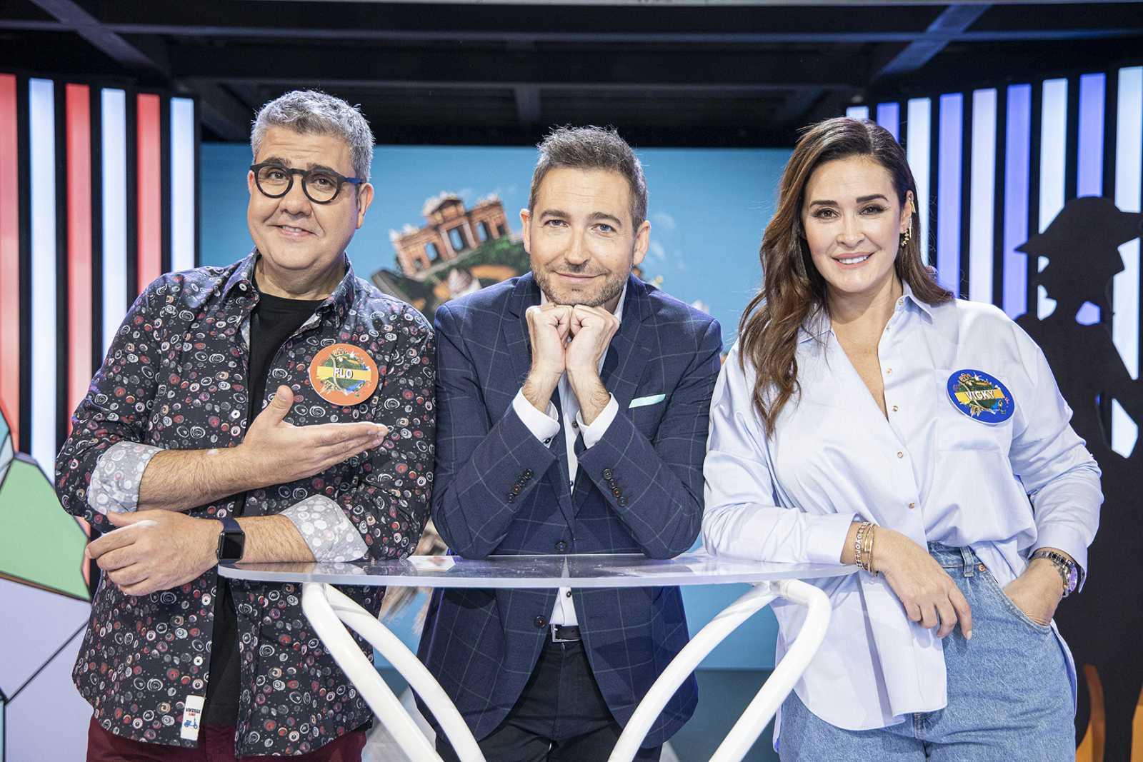 FRANK BLANCO nos presenta «TYPICAL SPANISH» : «Hay momentos en que olvidamos que estamos haciendo un programa de TV»