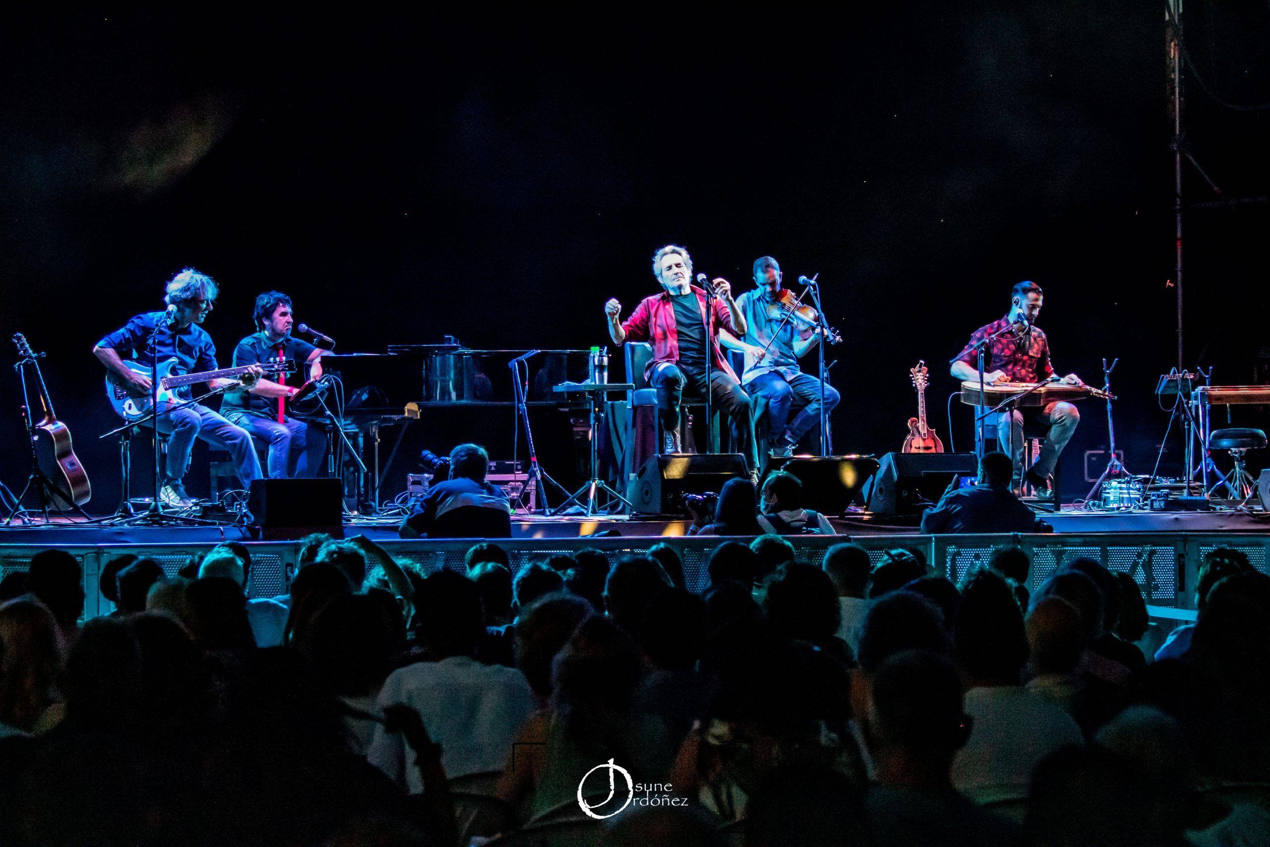 Miguel Rios – Las Noches del Botánico 2021. Foto: Josune Ordóñez