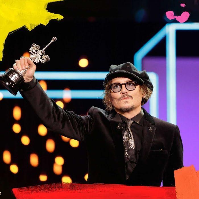 Johnny Depp por el #SSIFF69